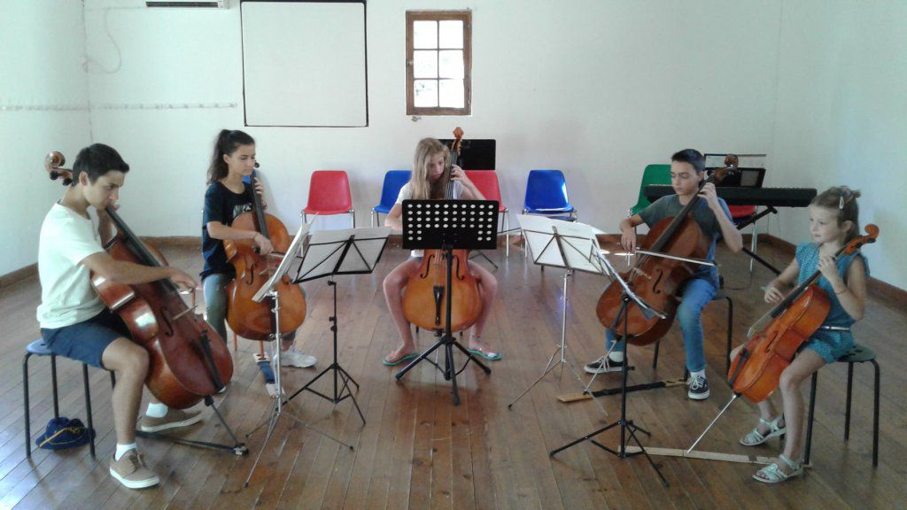 Ensemble de violoncelles stage 2017